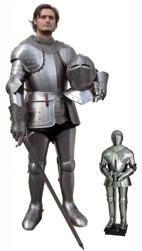 man with armor